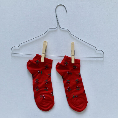 Cherry - Man Ankle Socks