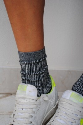 Pied de poule - Woman Socks