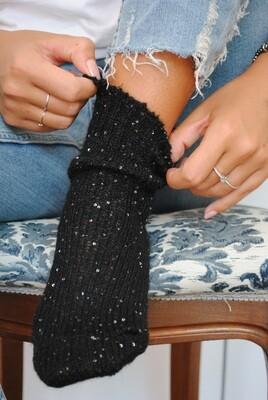 Paillettes Cozy Socks - Woman Socks