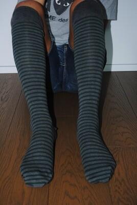 Endless Stripes - Man Long Socks
