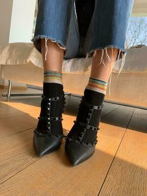 Rib - Woman socks