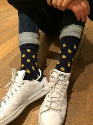 Pineapple- Man Short Socks