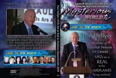 Paul Hellyer - UFOs are as Real as Airplanes Flying Overhead