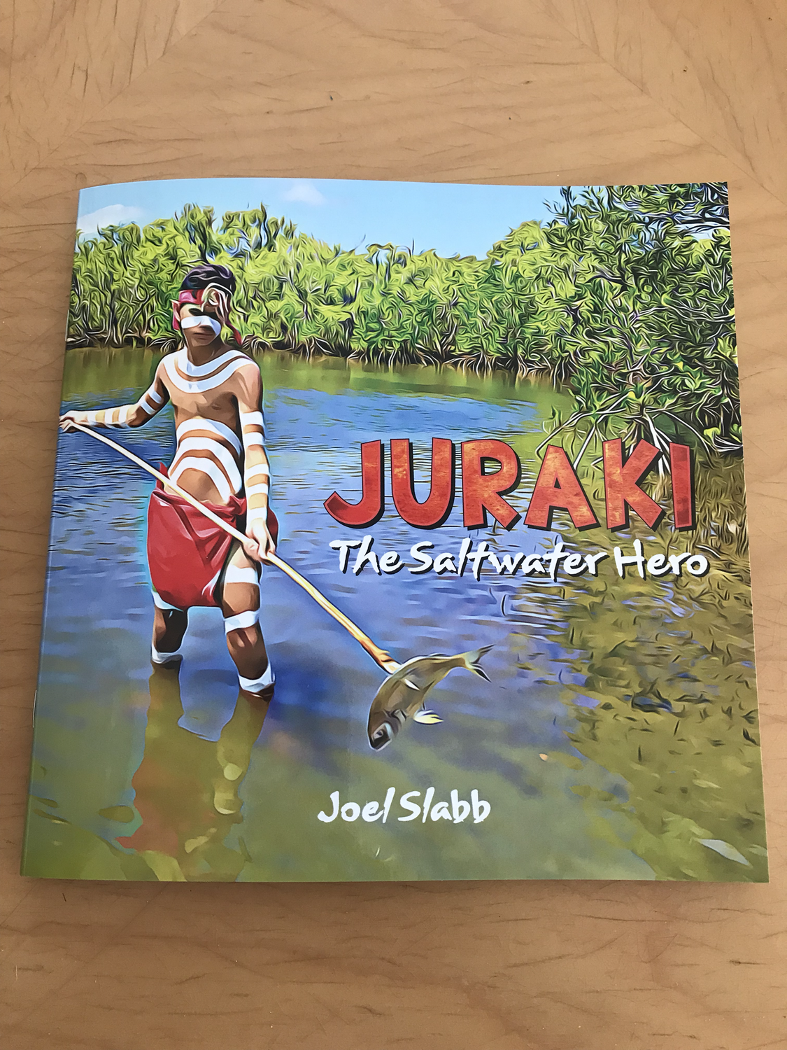 Juraki The Saltwater Hero Book