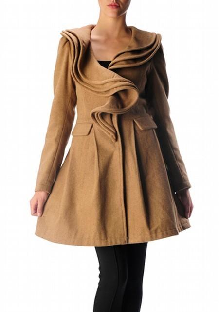 Vintage Inspired Swirl Coat