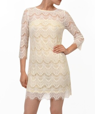 Lace Shift Dress