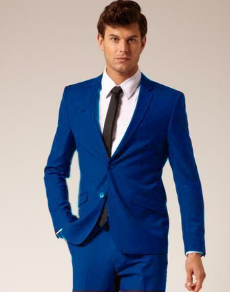 Men's Blue Suit