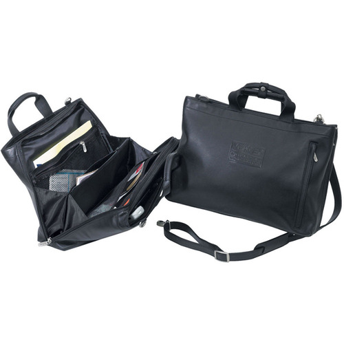 Soft Sided Leather Briefcase