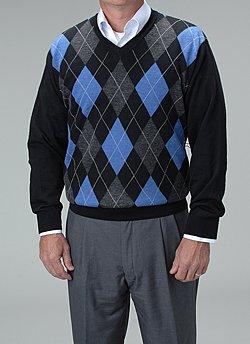 Men's Argyle Sweater