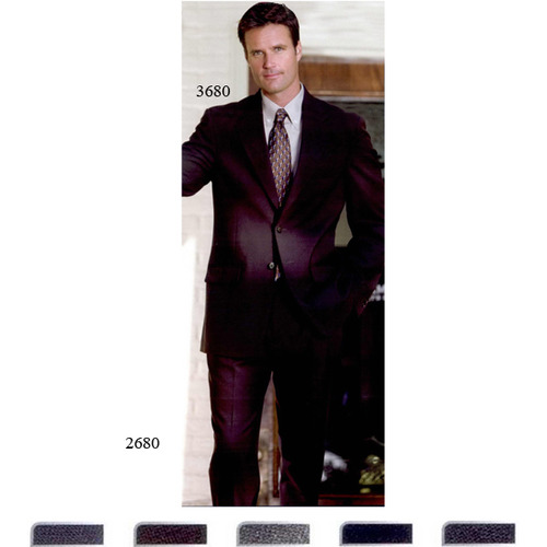Men's Poly/Wool Suit Coat - Jacket & Pant sold as a set