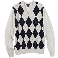 Men's Argyle Sweater - Brooks Brothers