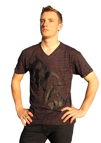 Burn-out Fabric RockGodz T-Shirt