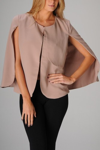 Long Sleeve Cape