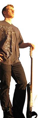 Distressed Fabric RockGodz T-Shirt