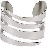 Stainless Steel Swirl Cuff Bracelet