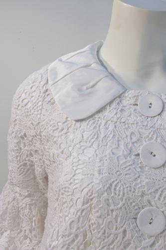 Lace Overlay Jacket
