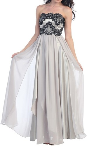 Strapless Empire Dress