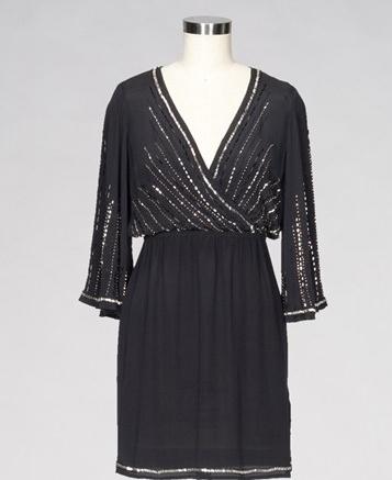 Bell Sleeve Mini Dress