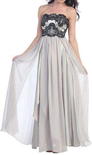 Strapless Empire Dress