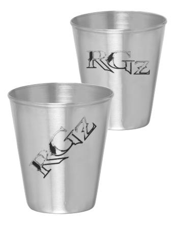 RockGodz Stainless Shot Glass
