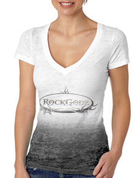 RockGodz Burn-Out Women's TShirt