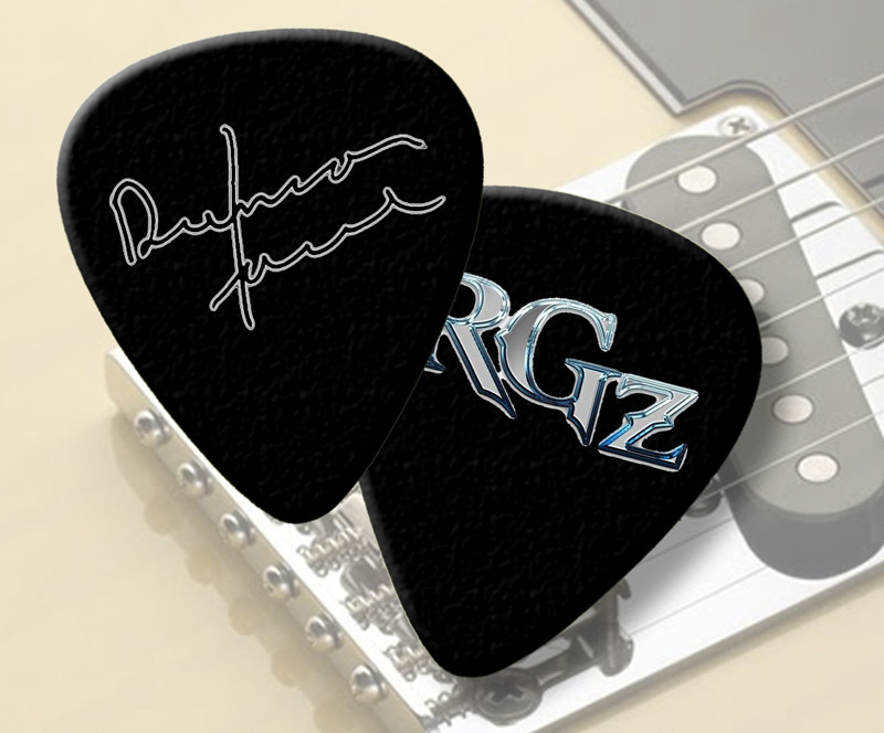 Duncan Faure RGZ Guitar Pics (pack of 5)