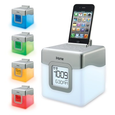 iHome Color Changing Dual Alarm Clock