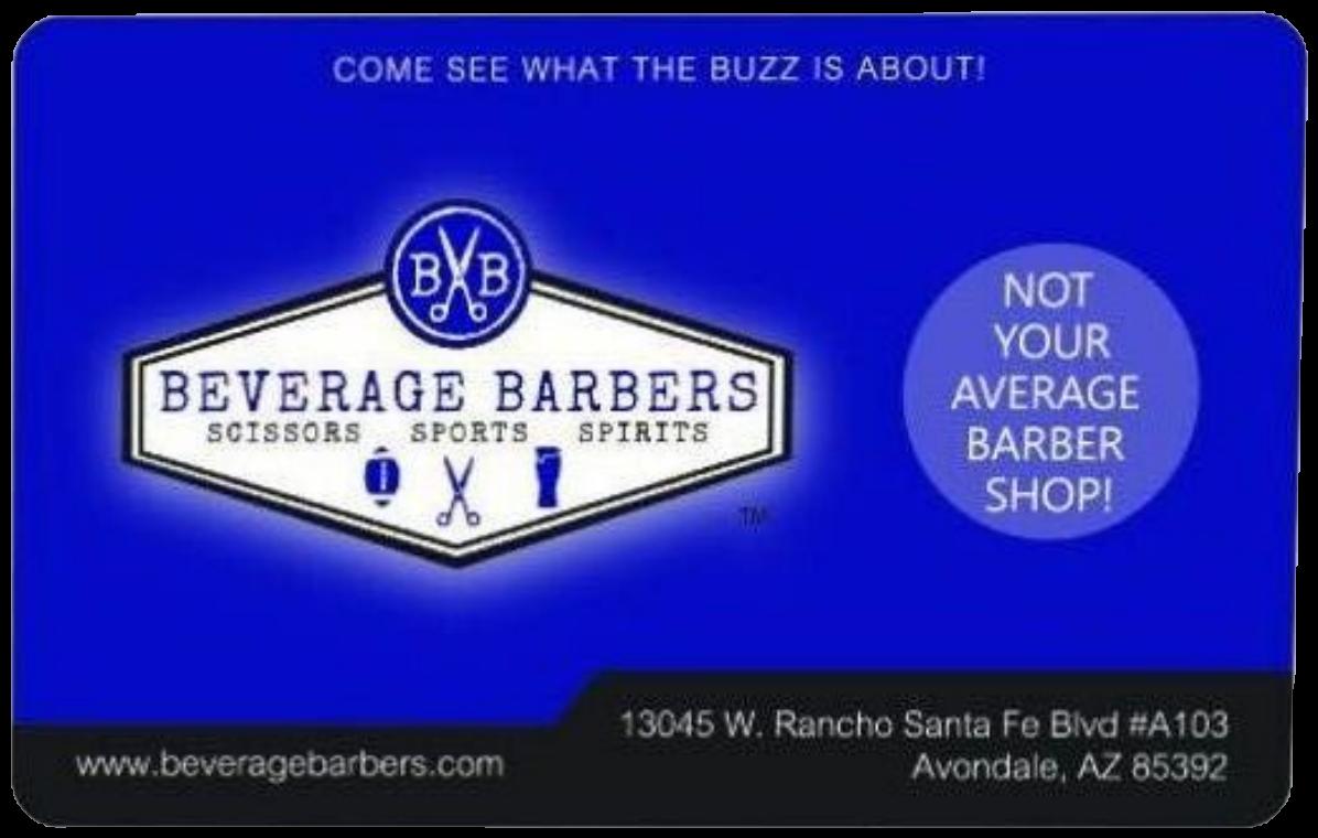 Beverage Barbers Web Gift Card-100