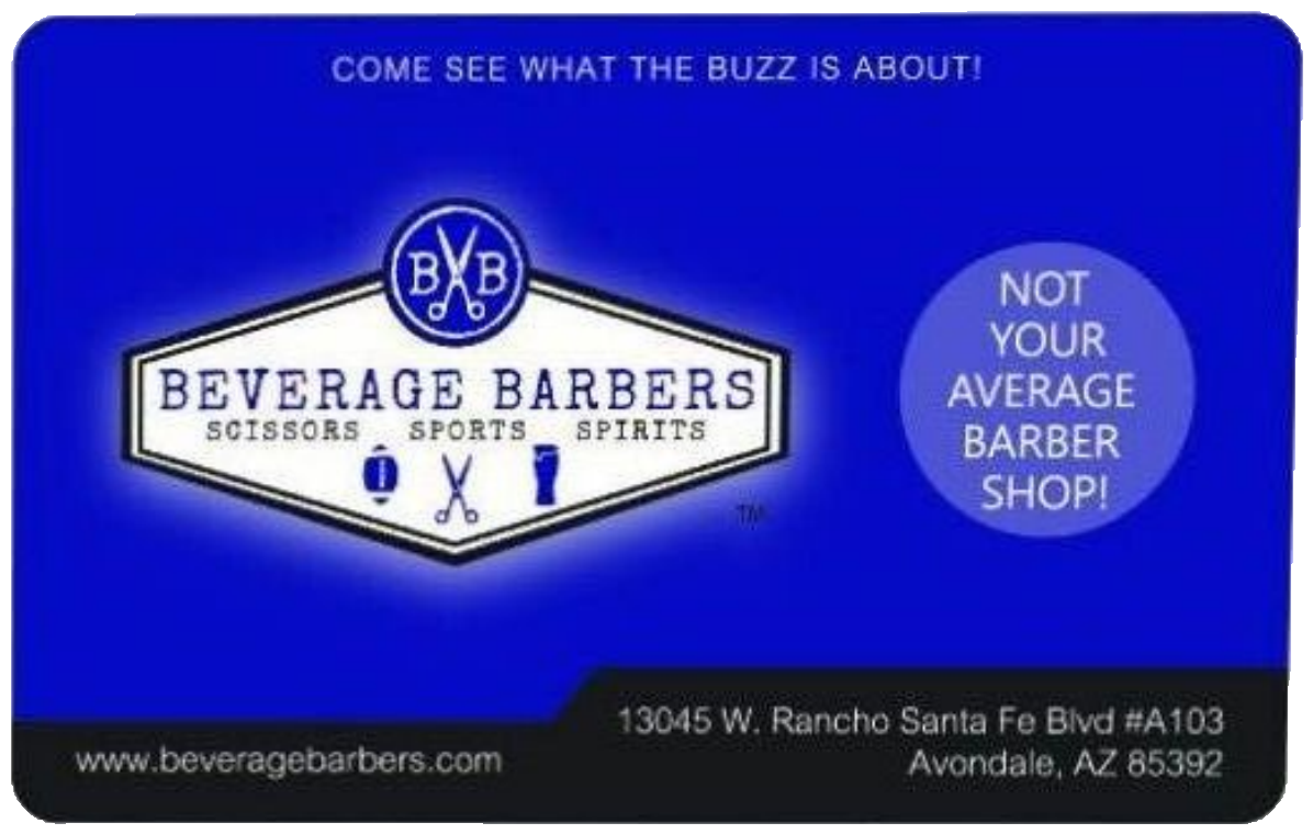 Beverage Barbers Web Gift Card-25