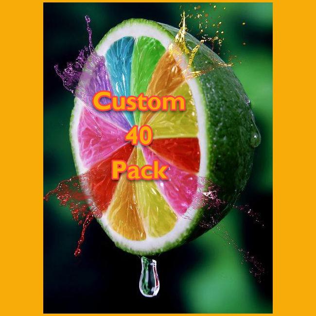 Flavor Essence Custom 40 Pack (x 2oz each)