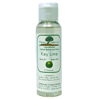 Flavor Essence KEY LIME -Unsweetened Natural Flavoring
