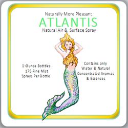 ATLANTIS Mist  [Custom 5 Pack] Natural Air & Surface Spray by Flavor Essence