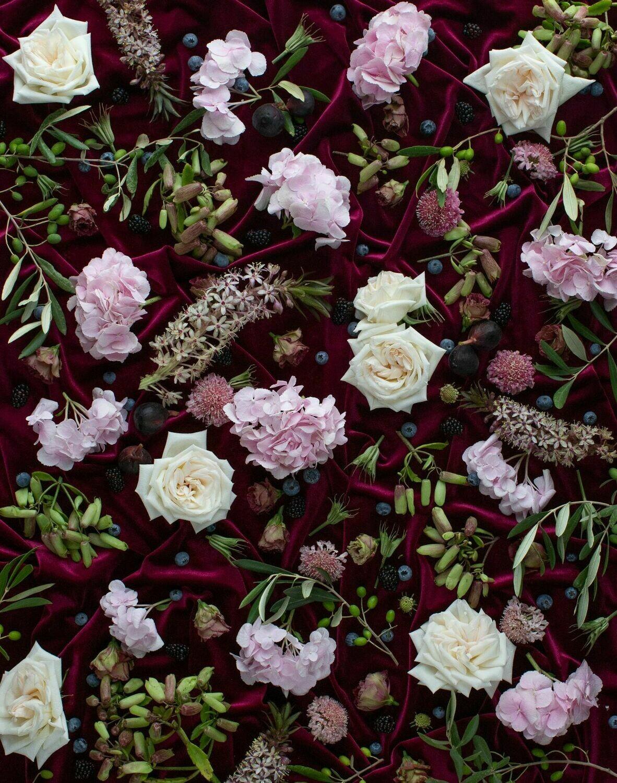 Blommeprag Kombuismat