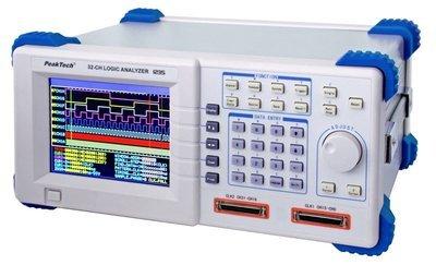 Analizador lógico 32 CH con USB y RS-232 C