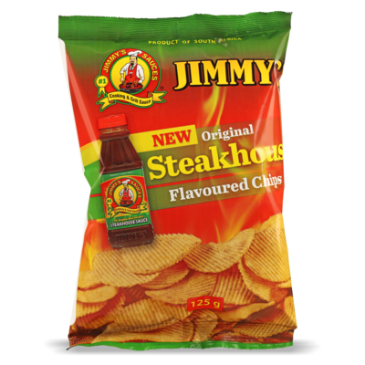 125g Jimmy's Steakhouse Flavoured Chips