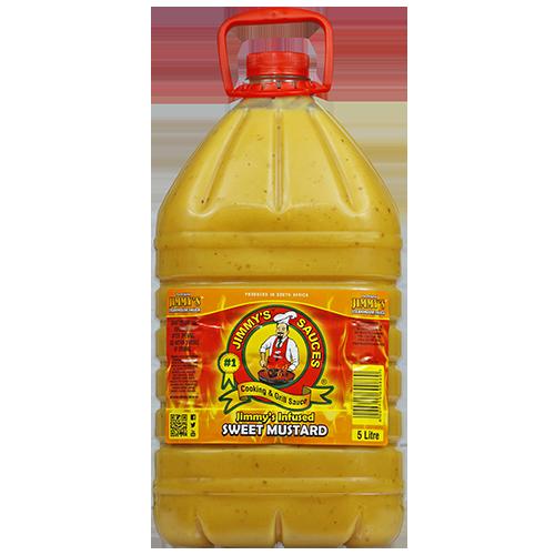 5l Jmmy's Sweet Mustard
