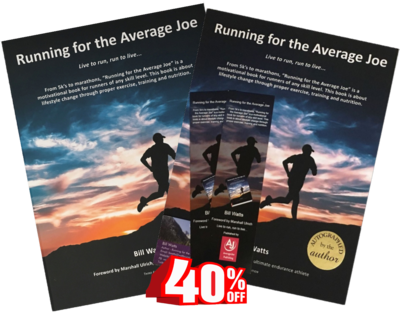 Running for the Average Joe - Combo Pack (Hardcover AND Paperback)