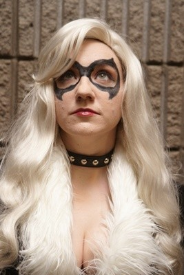 Black Cat charity Cosplay Print 11x7