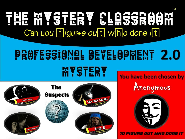 Professional Development 2.0 Mystery