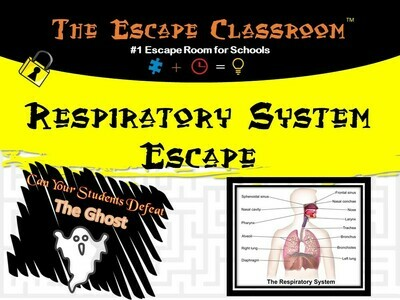 Anatomy: Respiratory System Escape (1 Teacher License)