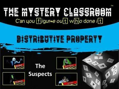 Distributive Property Mystery (1 Teacher License)
