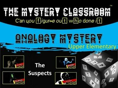 Analogy (Upper Elementary) Mystery (1 Teacher License)