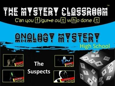 Analogy (High School) Mystery (1 Teacher License)
