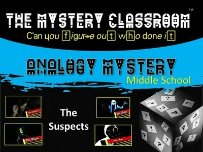 Analogy (Middle School) Mystery (1 Teacher License)