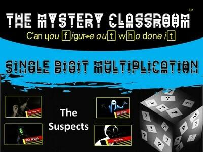 Single Digit Multiplication Mystery (School License)