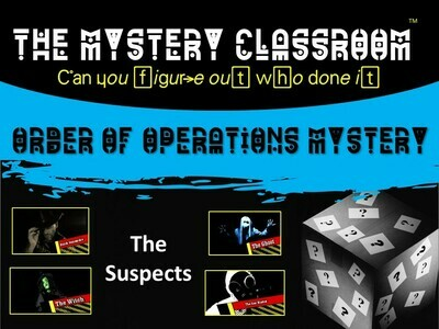 Order of Operations Mystery (1 Teacher License)