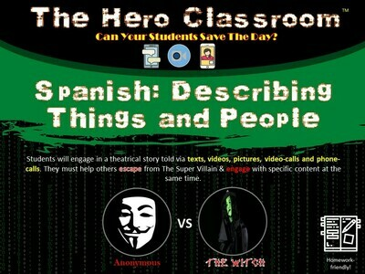 Spanish: Describing Things and People (1 Teacher License)