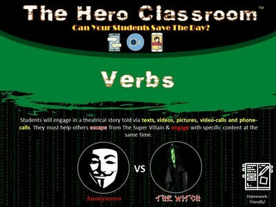 Verbs Hero Classroom (School License)