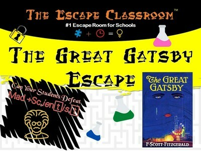 The Great Gatsby Escape Workshop (School License)