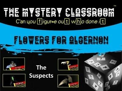 Flowers for Algernon Mystery (School License)